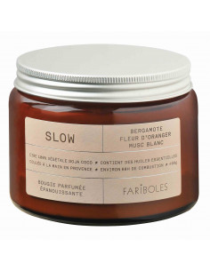 Slow candle 400g