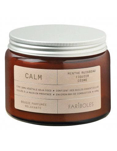 Calm candle 400g