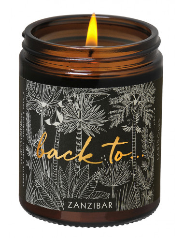 Back To Zanzibar candle 140g