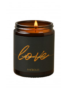 All We Need Is Love candle...