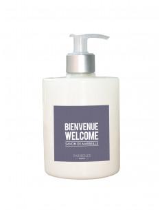 Liquid Marseille soap 520ml BIENVENUE WELCOME