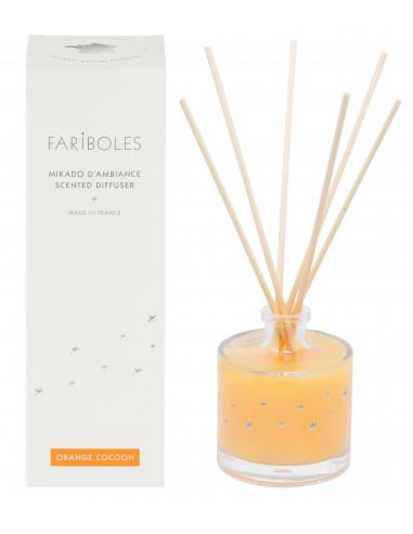 Orange Cocoon scented bouquet
